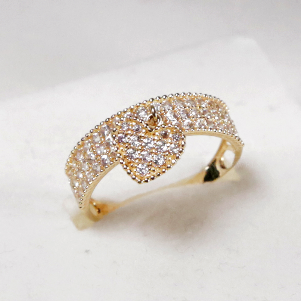 18k Gold Ladies Ring Tiffany & Co design | D Fontaine Jewellers
